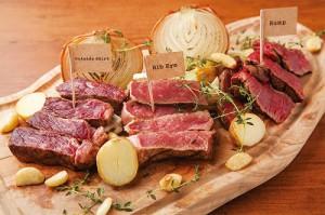 牛の部位食べ比べプレート